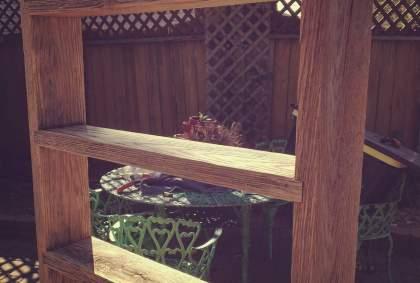 Barn Oak Rustic Shelf