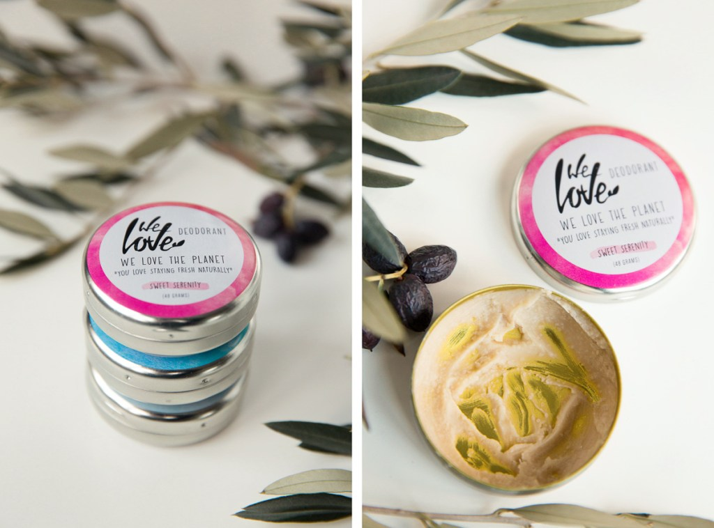 Sweet Serenity We Love The Planet natuurlijke deodorant roze review ervaring Wood and Gems allergische reactie