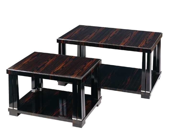Art Deco Macassar Ebony Coffee Table.