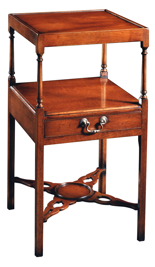 Mahogany Chippendale End Table.