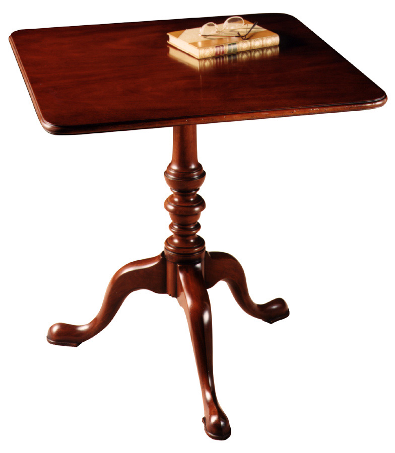 Chippendale style Tripod Table.