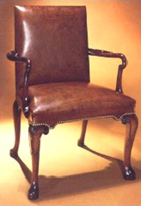 George I Style Mahogany Arm Chair