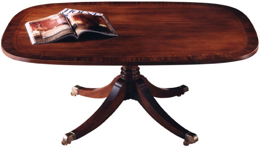 Mahogany Rectangular Coffee Table.