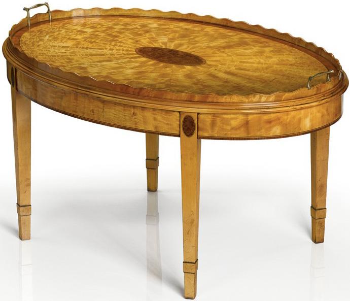 Sheraton Style Oval
