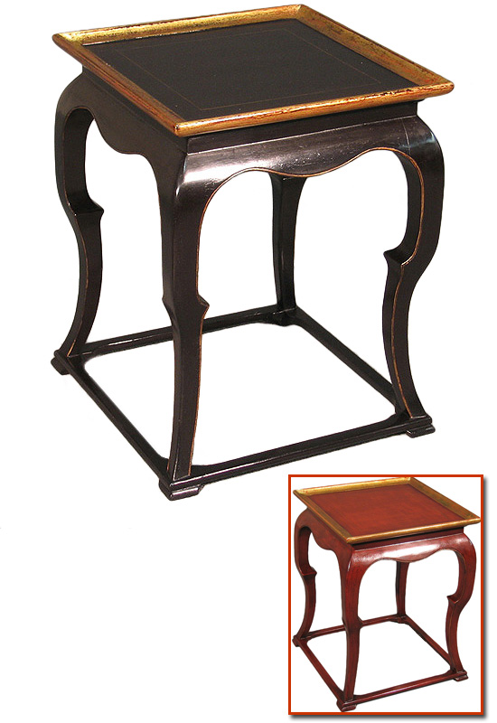 Lacquered Chinese Style Low Table.