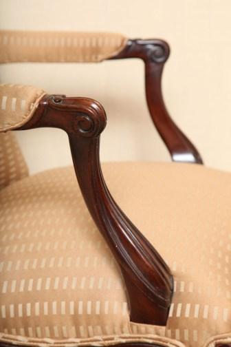 WH-6346 Armchair - Arm Detail