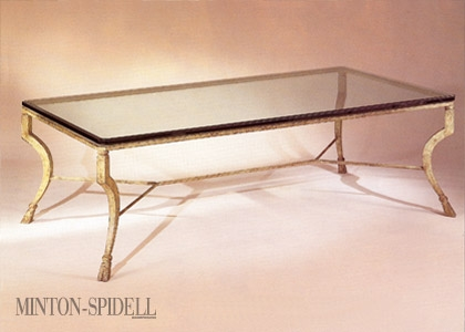Durant Iron & Glass Table
