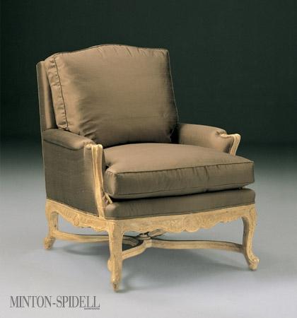 Louis XV Chair w/ Stretcher