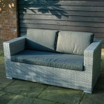 Cologne Rattan 2 Seater Sofa Woodberry