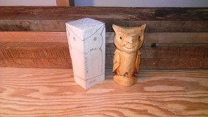 New Years Carved Owl – WoodBin