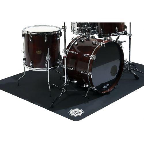 dnb tapis de batterie et percussions antiderapant pliant 180 x 140 cm
