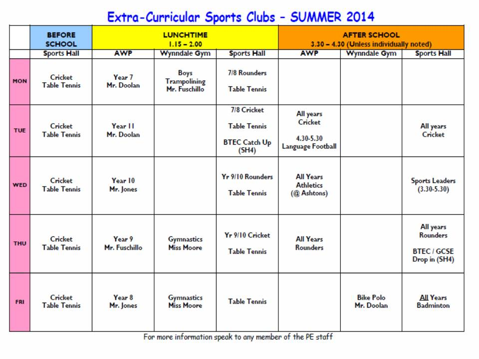 Search Results For 6 Timetable Quiz Calendar 2015