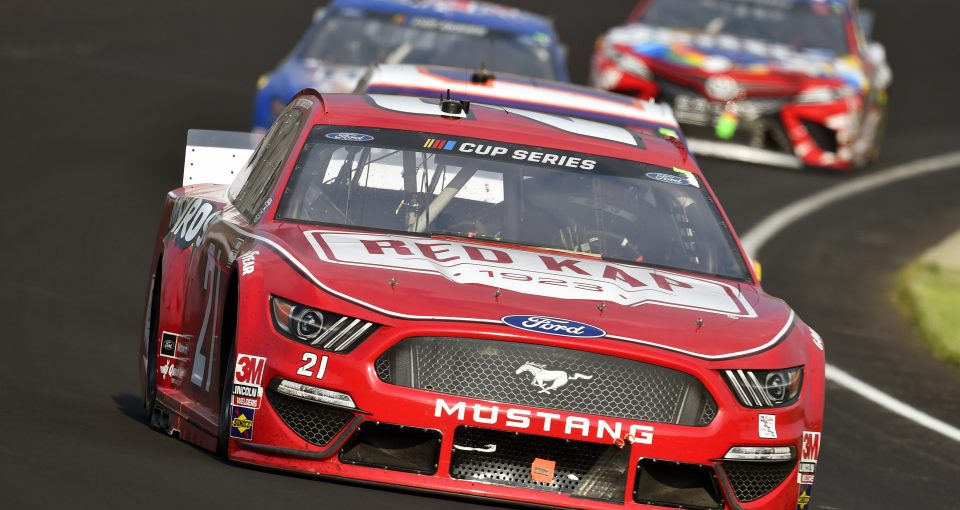 #21: Matt DiBenedetto, Wood Brothers Racing, Ford Mustang RED KAP/Menards