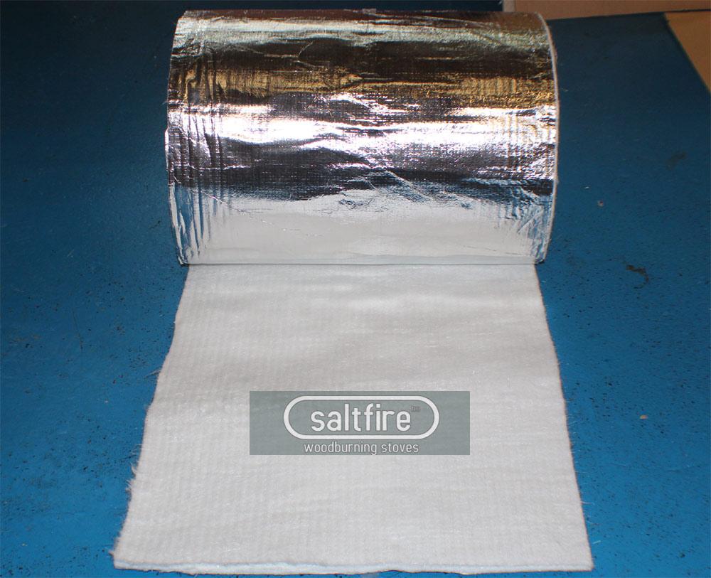 Flue Wrap Chimney Insulation Insulation Woodburning
