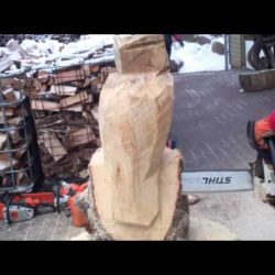 Rolf Döderlein de Win  Woodcarving