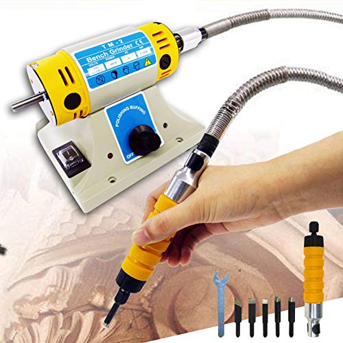 110V Electric Chisel Carving Tool Wood Carving Machine ...