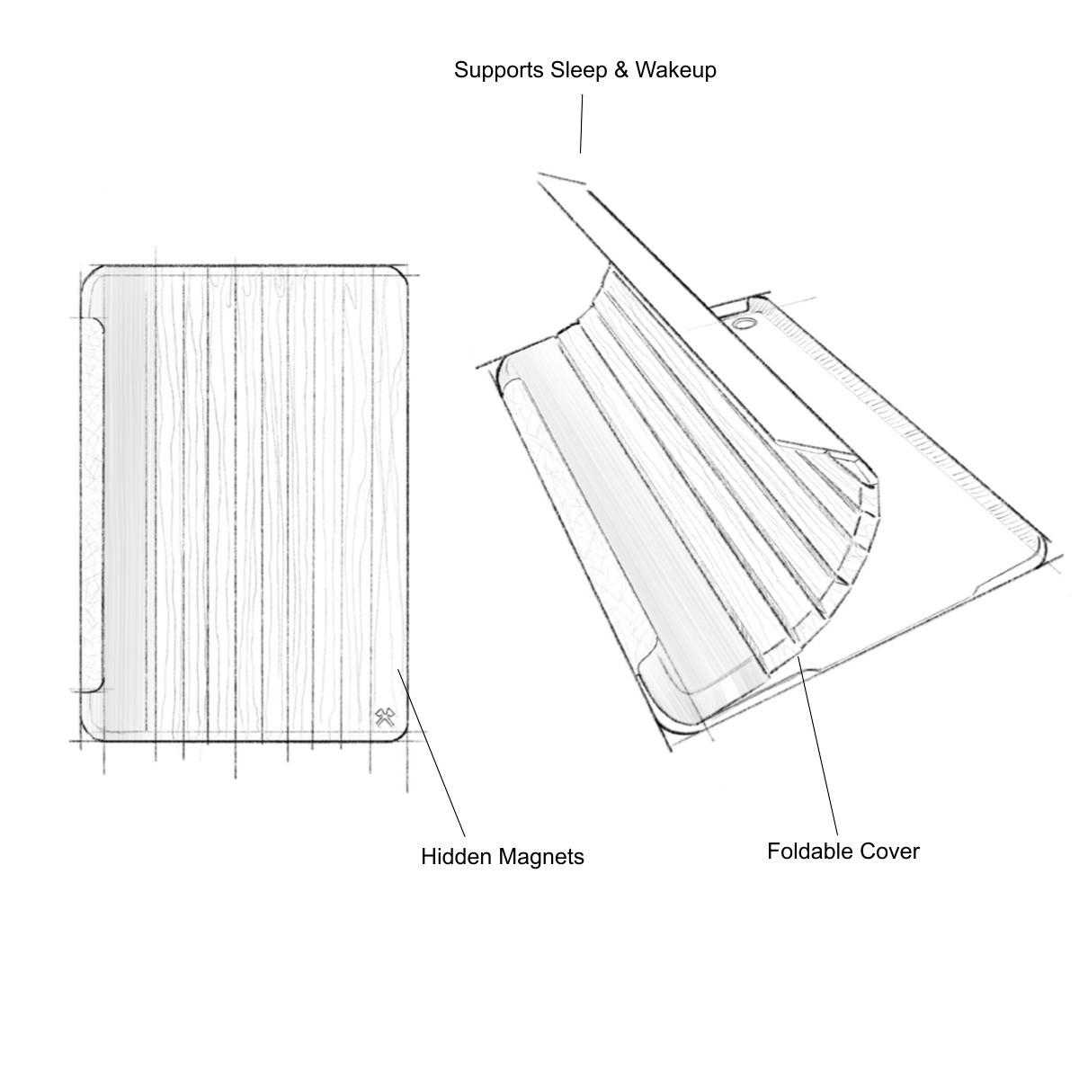 Edle Ipad Hullen Aus Holz Fur Pro Air Amp Mini
