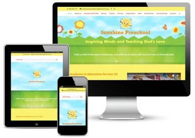 Sonshine Preschool Website