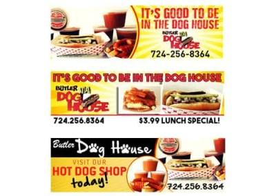 Butler Dog House Billboard Design