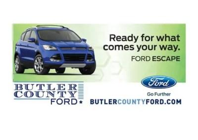 Butler County Ford Billboard Design