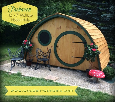 Buy A Unique And Fun Hobbit Hole Playhouse