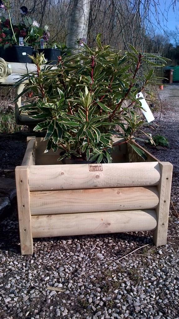 Garden Planters The Wooden Workshop Oakford Devon