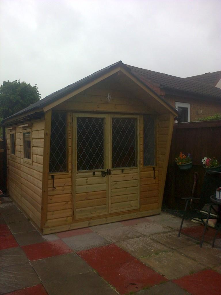 Summer Houses The Wooden Workshop Oakford Devon