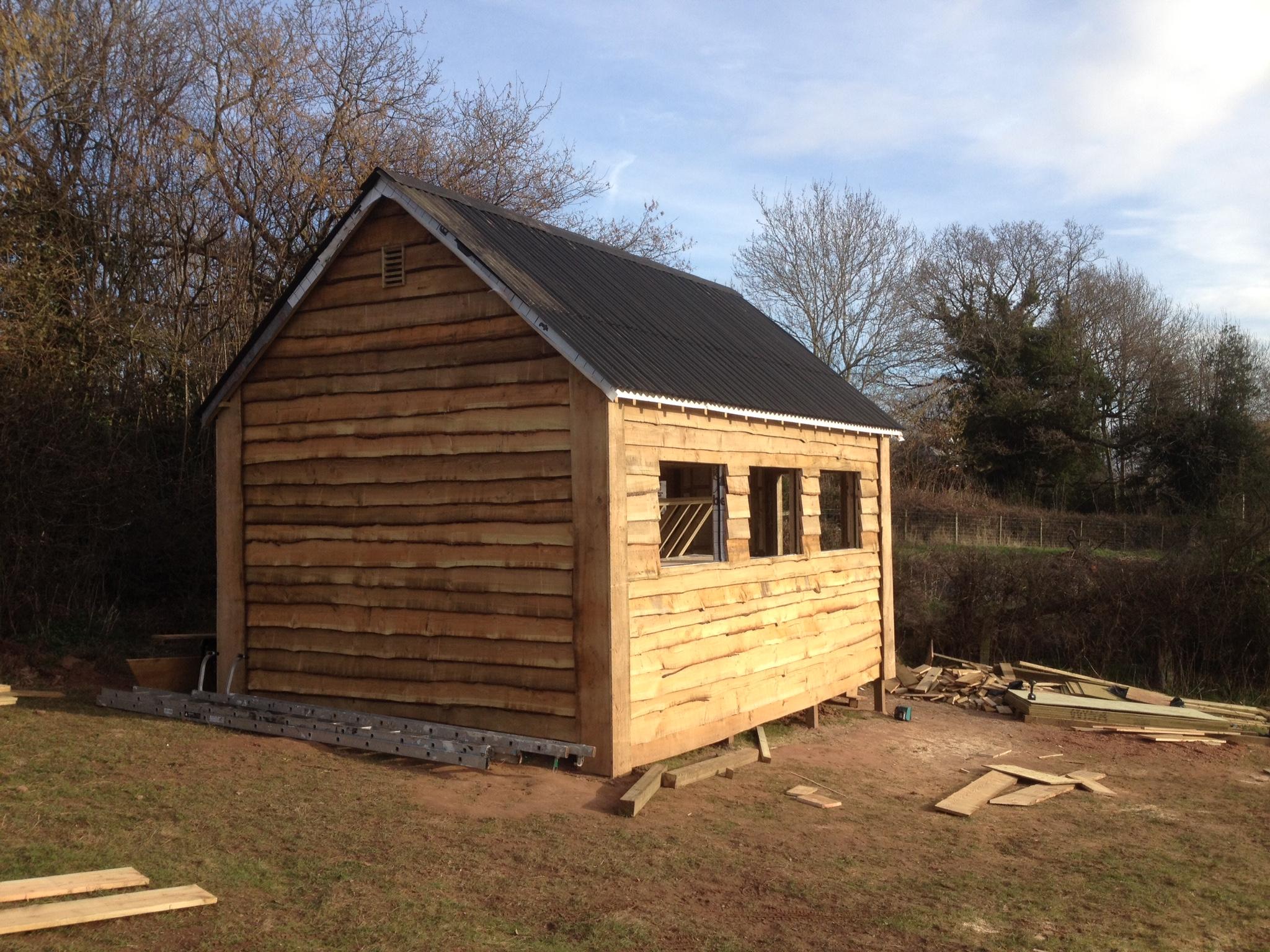 Wood Cabin Exterior Work The Wooden WorkshopOakford