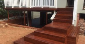 wooden stair case Sundecks