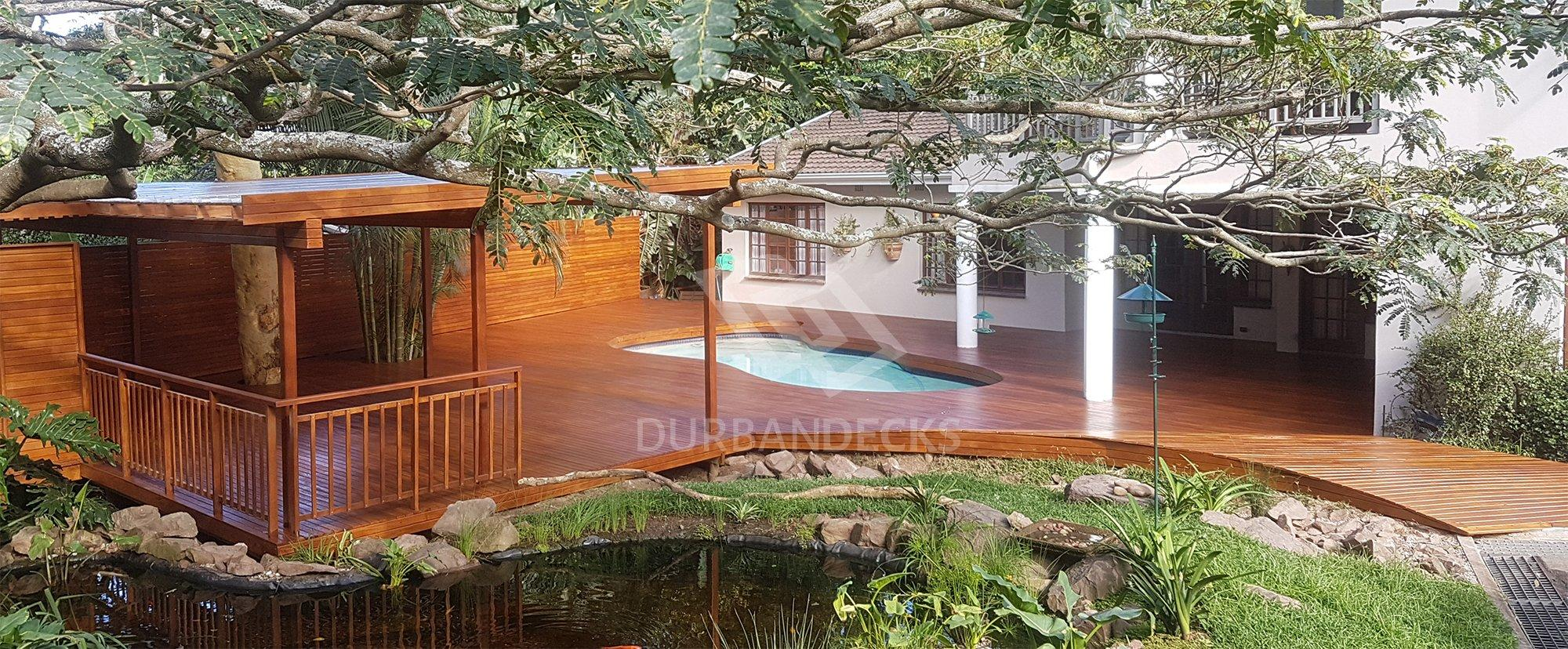 Beautiful Wooden Decking Durban South Arica