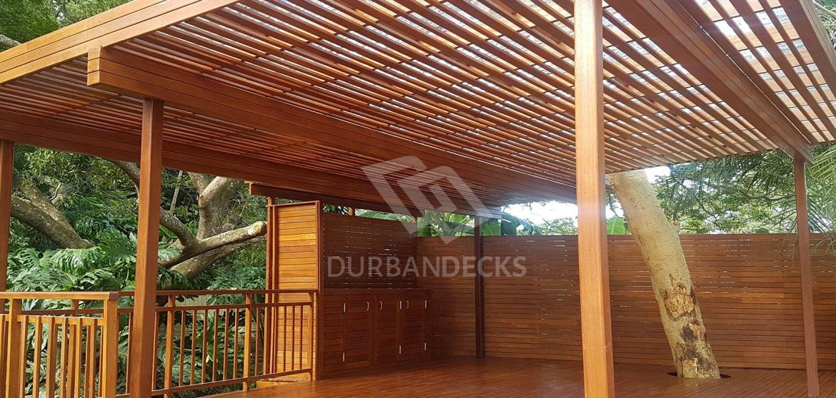 Out Door Wooden Decking Durban