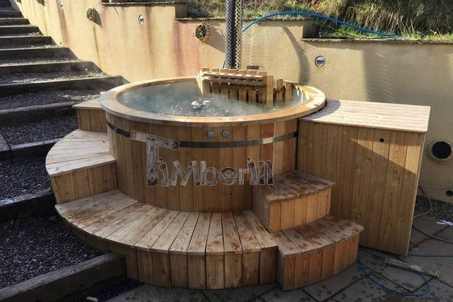 Plastic Lined Outdoor SPA, Tin, Brecon, UK