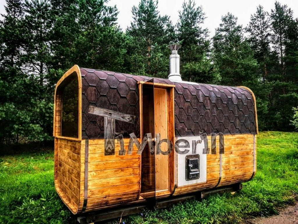 Rectangular-outdoor-garden-wooden-sauna-and-hot-tub Finished projects