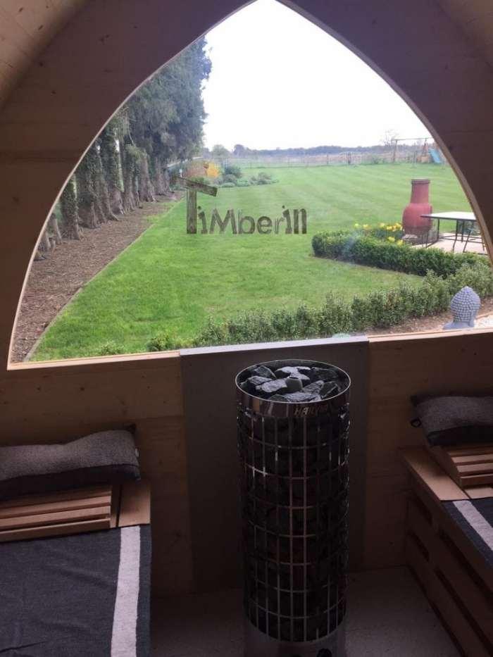 Outdoor-garden-igloo-sauna-Darren-Worlington-U.K.-4 Outdoor garden igloo sauna, Darren, Worlington, U.K.