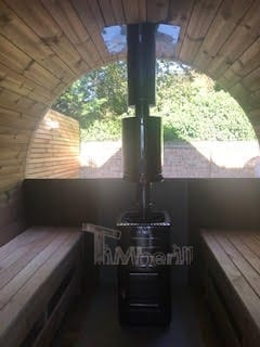 Outdoor-Barrel-Round-Sauna-Heather-Chelmsford-Essex-U-3 Outdoor Barrel Round Sauna, Heather, Chelmsford, Essex, U.K
