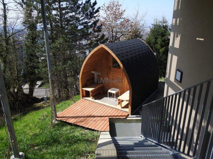 Wood-Outdoor-Igloo-Sauna-Stephan-Schwarzach-Austria-700x525 Wood Outdoor Igloo Sauna, Stephan, Schwarzach, Austria