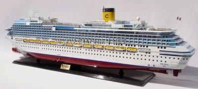 MODEL CRUISE SHIP COSTA PACIFICA