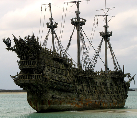 Model Ghost Ship Flying Dutchman