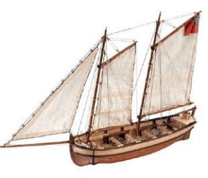 Artesania Latina Endeavour II Longboat
