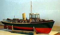 Deans Marine HMCC Badger Wooden Ship Kit R/C