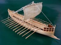 Dusek Greek Bireme, 6th Century B.C