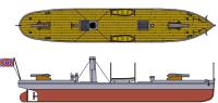 Flagship Models CSS Hampton (Maury Gun Boat)
