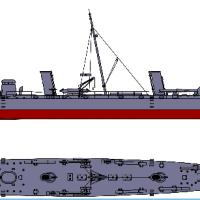 Flagship Models USS Winslow