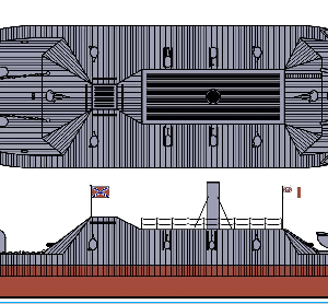 Flagship Models CSS Tennessee