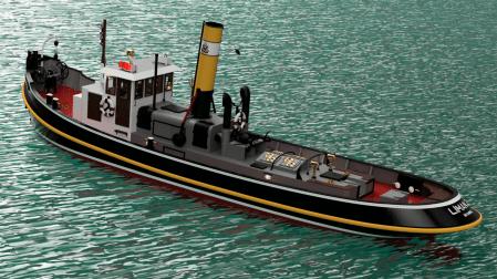 Tugboat Liman 2 by Turk Model