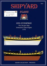 HMS Enterprize Super Modellar Plans - Shipyard PM001S