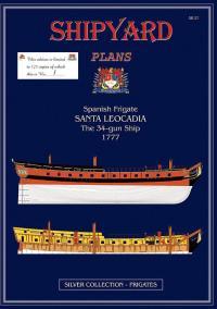 Santa Leocadia Super Modellar Plans - Shipyard PM002S