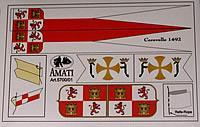 5700/01 Spanish Caravelle Flag set