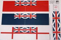 5700/17 Great Britain Flags c1700-1800