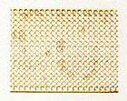 4390/01 Brass Wire Mesh Round Hole 30x150mm